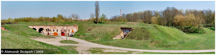 Восточный форт Брестской крепости