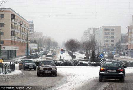Зима в Бресте - 1 (фото)