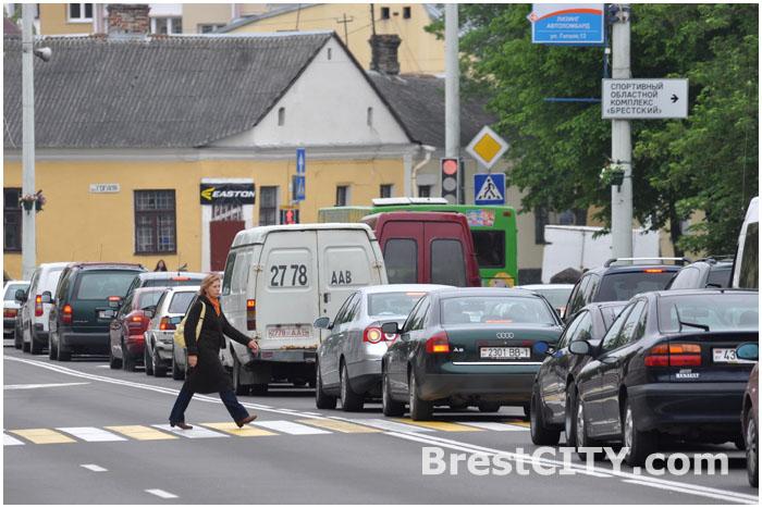 ДТП на перекрёстке ул. Ленина и Гоголя: проезд сильно затруднён