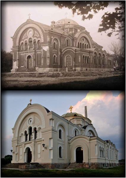 Гарнизонный собор в Брестской крепости. Прошлое-настоящее