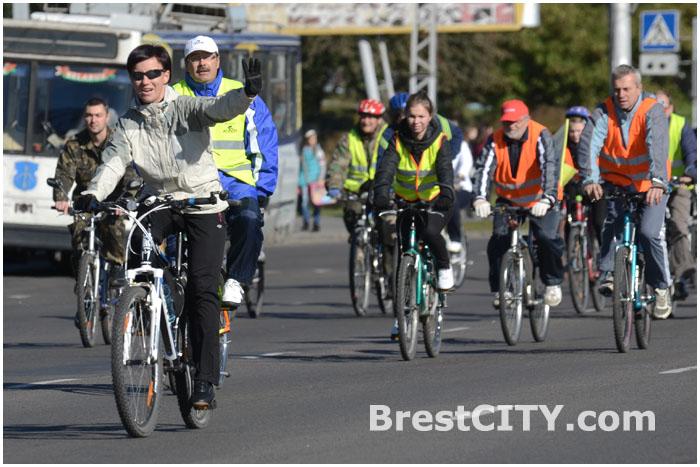 Закрытие велосезона-2013 в Бресте