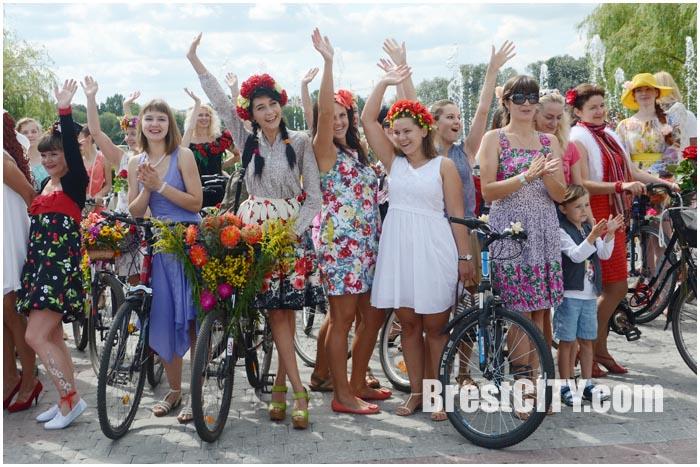 Велопарад на шпильках 2015. Фото из архива BrestCITY.com