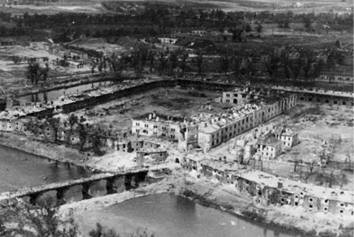 Брестская крепость. Вторая мировая война. Только фотографии.