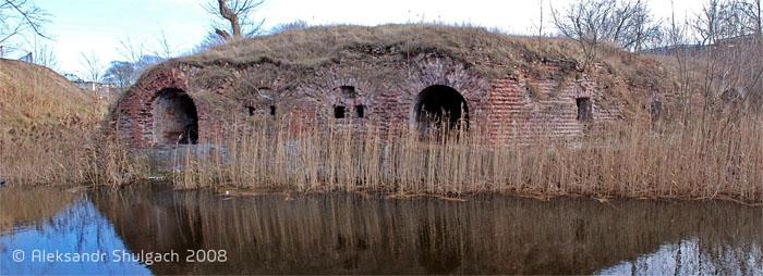 Гавриловский капонир. Брестская крепость
