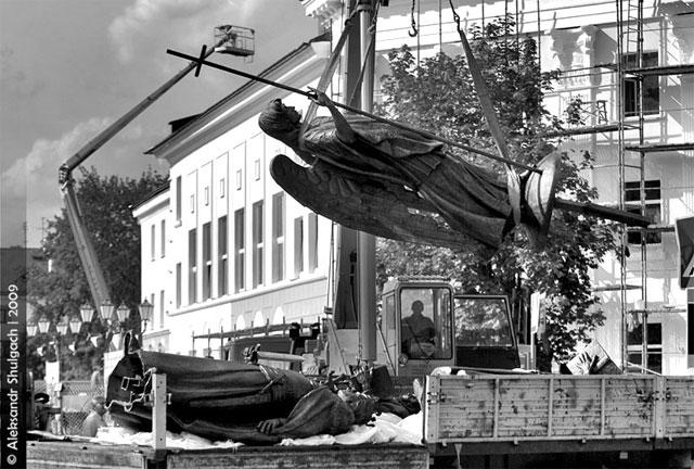 Брест. Установка памятника тысячелетию города