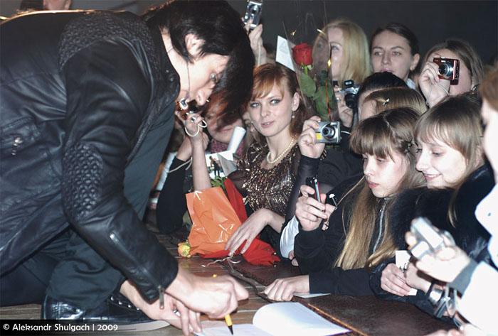 Дмитрий Колдун выступил в Бресте