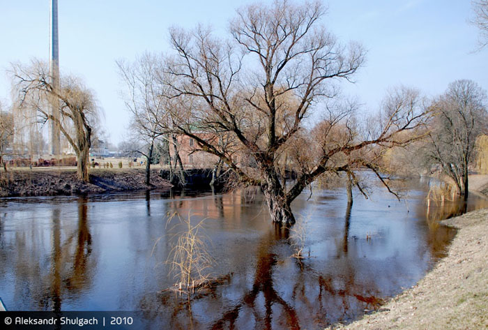 Паводок в Брестской крепости