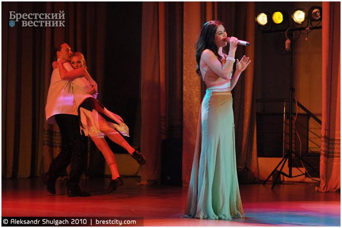 Концерт Полины Смоловой в Бресте
