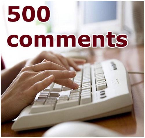 500-й комментарий в фотоблоге Бреста