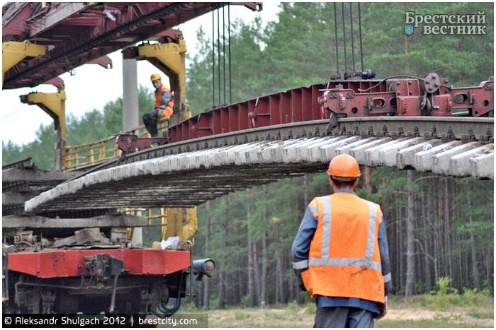 Восстановительный ремонт пути