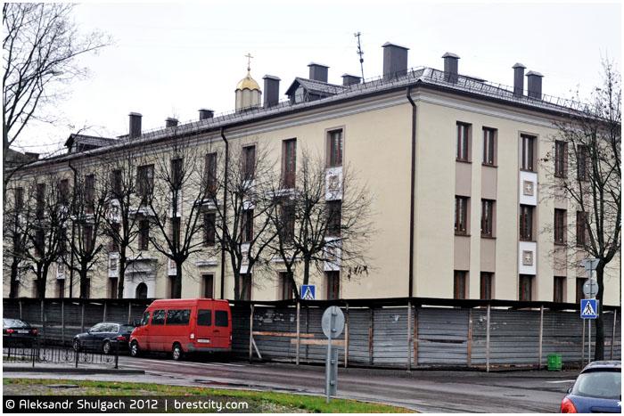 Новое здание Белорусской Православной Церкви