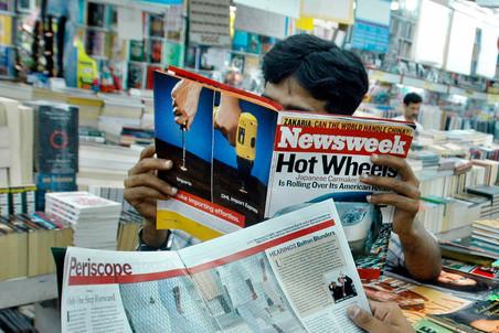 C 2013 года Newsweek полностью перейдет из бумажного формата в электронный. Фото: AFP