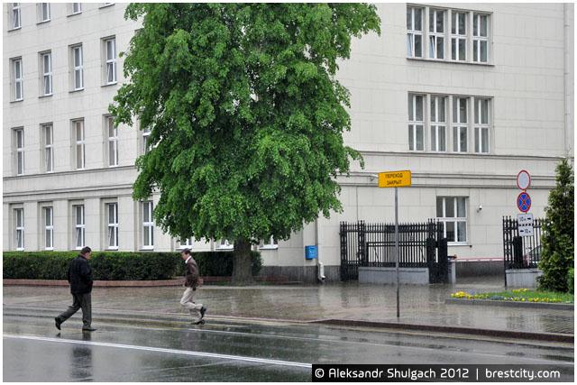 Пешеходный переход на ул. Ленина закрыт