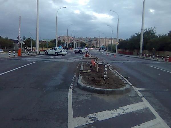 Авария на переезде по улице Суворова в Бресте 3 сентября