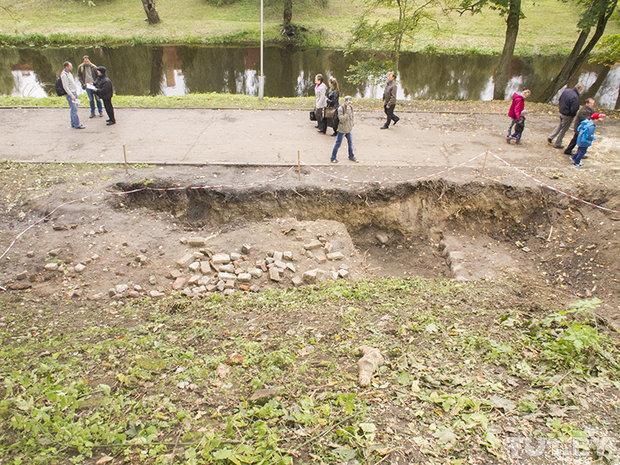 Раскопки в Брестской крепости. Замок или пороховой погреб?