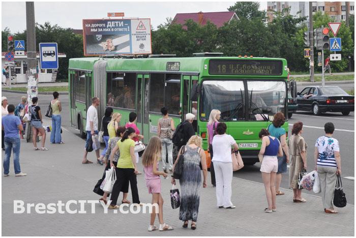 Расписание движения автобусов в Бресте 2014
