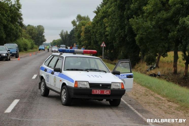 ДТП на трассе Брест-Домачево. Прилуки