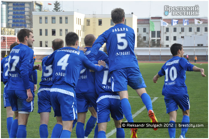 Игроки клуба Динамо Брест