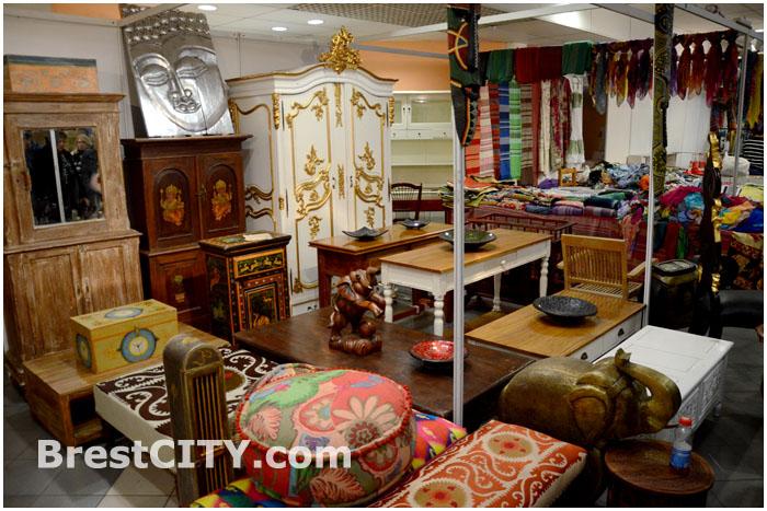 Выставка товаров из Индии в Бресте