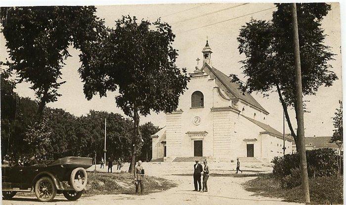 В польский период (1921-1939) собор в Брестской крепости стал костелом и изменил свой вид