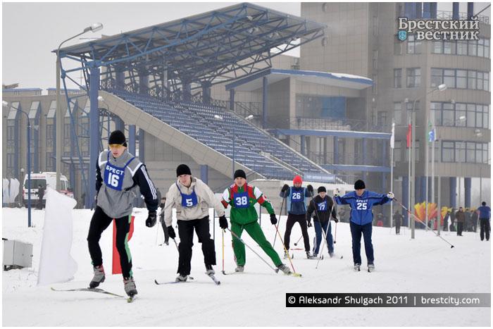 Брестская лыжня 2013 на Гребном