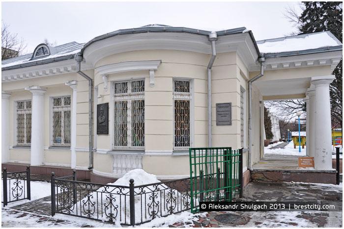 Дом на улице К.Маркса в Бресте, в котором жил Машеров с 1955-1959