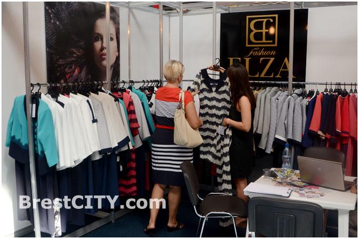 Первая выставка моды в Бресте