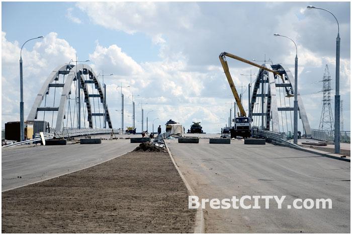 Новый мост через реку Мухавец. Западный обход