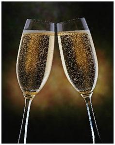 Алкогольные напитки на новый год
