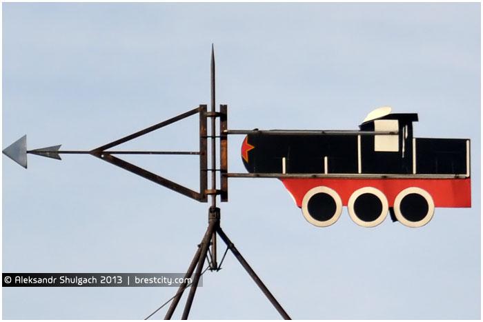 Необычный соаветский паровоз в Бресте