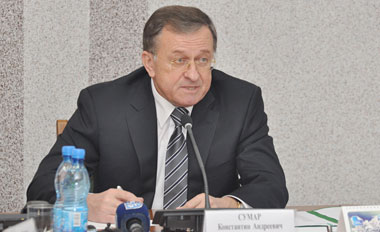 Сумар Константин Андреевич. Председатель Брестского облисполкома