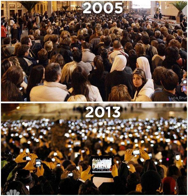 Избрание в Ватикане Папы Римского в 2005 и 2013 году