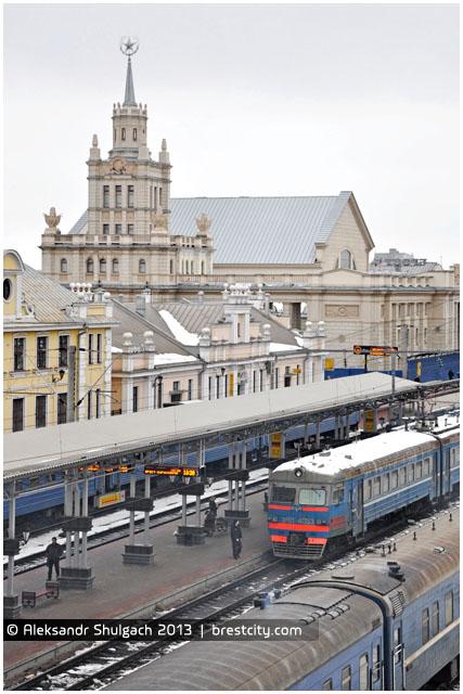 Брестский жд вокзал