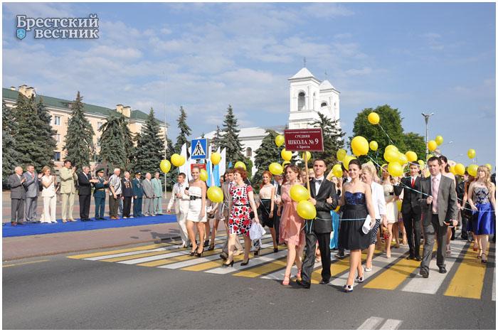 Бал выпускников «Алые паруса» — 2012