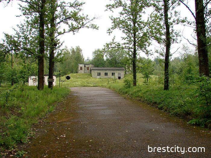 Подземный запасной командный пункт в Каменецком районе