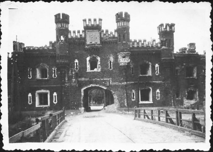 Холмские ворота под прицелом немцев