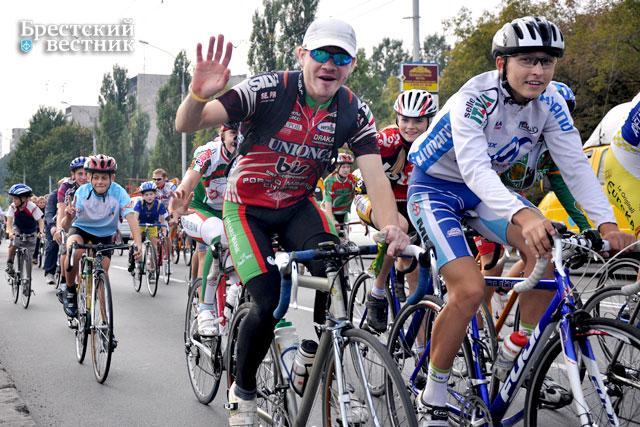 Велопробег в Бресте