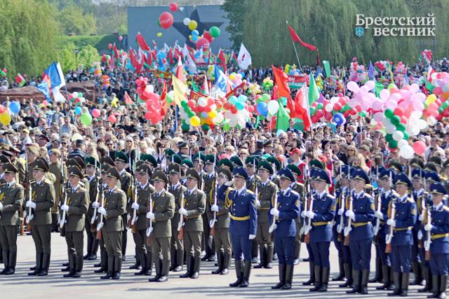 День Победы в Бресте