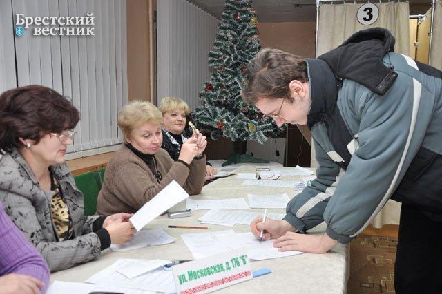 Выборы президента в Бресте 2010