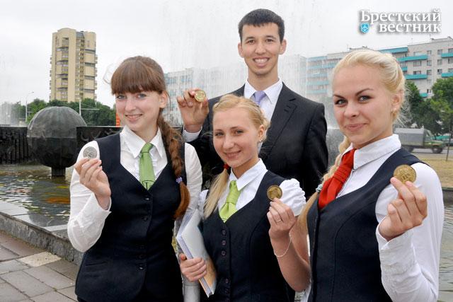 Золотые медали. Выпускники